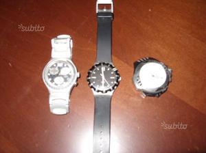 3 orologi sector e swatch