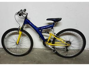 """Bici Bicicletta Mountain Bike 26 """" Ammortizzata"""