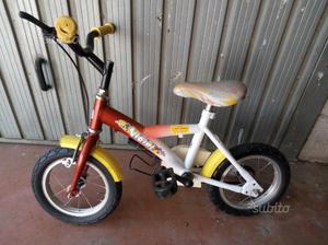 Bicicletta misura 12 bambini 3/4 anni