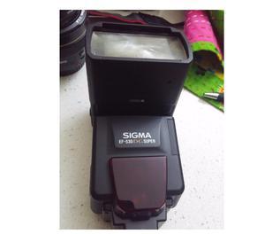 Canon EOS 60d con obiettivi e flash. Come nuova