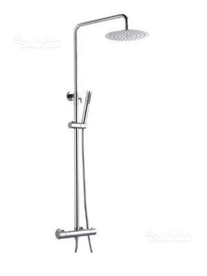 Colonna doccia termostatica