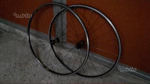 Coppia ruote per bici da corsa 10v