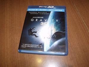 Gravity Blu Ray 3D