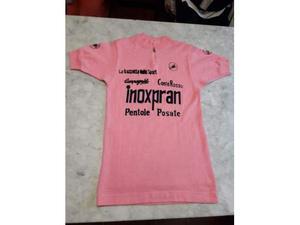 Maglia rosa ciclismo Castelli Inoxpran vintage lanetta