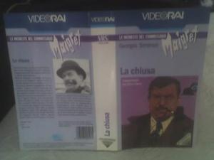 Maigret- 9 VHS originali RAI