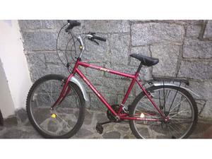 Mountain bike da donna con manubrio rialzato