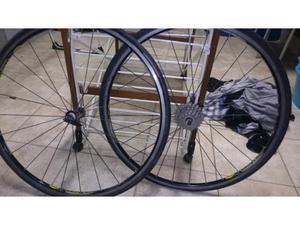 Ruote bici da corsa mavic cosmos
