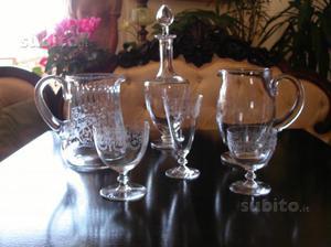 Servizio bicchieri di cristallo Baccarat