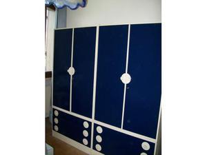 Arredamento camera da letto armadio comodino scrivania sedia