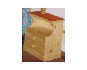 Camere da letto in legno: Comodino nuovo prezzo fabbrica