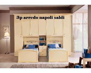 Cameretta Ponte Arte Povera.Cameretta Doppio Ponte Napoli Economico 3p Arredo Posot Class