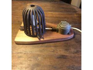 Lampada applique artigianale vintage loft posot class - Lampada da tavolo artigianale ...