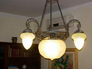 Lampadario Antico Ferro Battuto : Antico lampadario ferro battuto posot class
