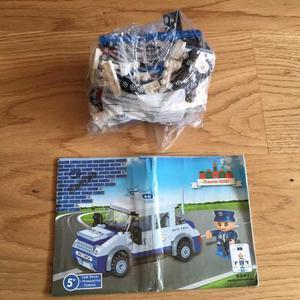 Macchina Polizia simil LEGO