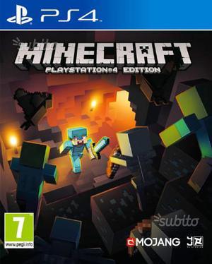 Minecraft PS4 nuovi sigillati