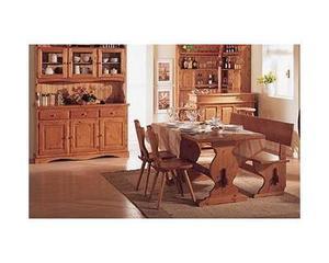 Mobili rustici: Soggiorno completo in legno color miele