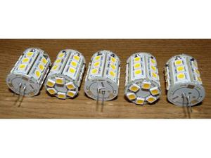N.5 lampade led smd 350 lumen attacco g4 12volt