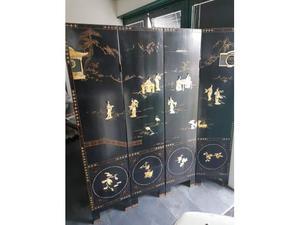 Paravento cinese originale antico