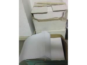 Regalo tre scatole fogli A4 con buchi per stampanti ad aghi