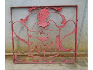 Ringhiera in ferro battuto verniciata