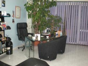 Scrivania in cristallo ovale da ufficio posot class - Scrivania cristallo ufficio ...