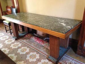 Tavolo in marmo bianco con struttura in ghisa posot class for Tavolo cucina 120x60