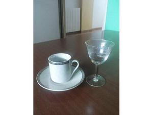 Tazzine caffè e bicchierini