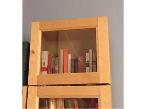 Ikea Libreria Billy Ante.Libreria Billy Ikea Ante Vetro