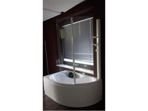 Vasca bagno asimetrica