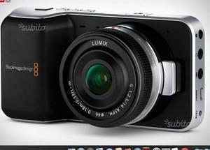 Video camera blackmagik pocket cinema camera