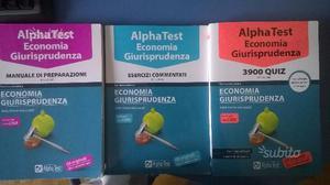 Alpha test indirizzo economia e giurisprudenza