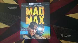 Blu Ray Disc UHD 4K HDR - Mad Max Fury Road (nuovo