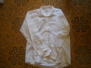 Camicia bianca calibrata