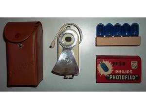 DUO LUX Flash con 5 lampadine PF1B Philips Photoflux