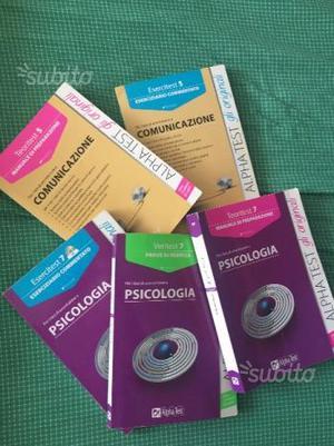 Libri alpha test psicologia/comunicazione