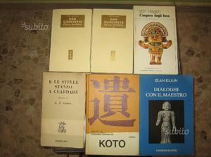 Libri di vari generi ed autori