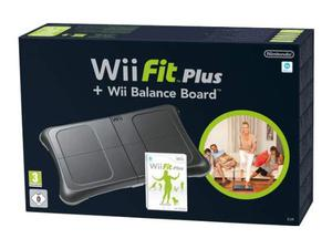 Nintendo Wii - Wii Fit Plus (Gioco) + Balance Board (Nera)