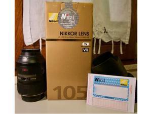 Obiettivo Ottica Micro Nikkor 105mm VR F2.8G