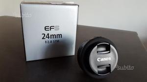 Obiettivo Pancake EF-S 24mm f/2.8 STM