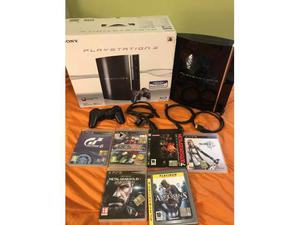 PlayStation 3 PS3 + controller + 6 giochi + cavo hdm1
