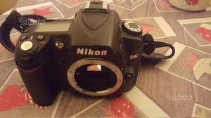 Reflex Nikon D90 + obiettivo Nikon