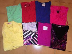 STOCK / LOTTO di 8 T-Shirt da donna miste