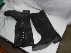 Stivali artigianali da donna, mis 40 colore nero