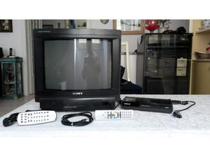 Tv Sony 16⤝ + Decoder Inno Hit IH905T + Telecomandi e