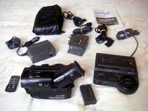 Videocamera Sony video Hi8 Handycam