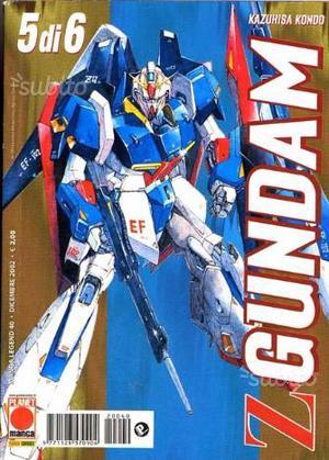 Z Gundam serie completa 6 albi