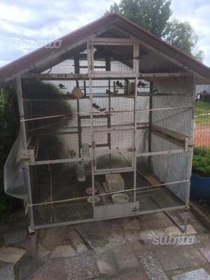 gabbia grande per uccelli