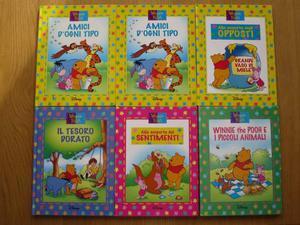 6 Libri Winnie the Pooh -50%