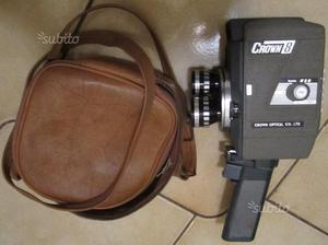 Cinepresa 8 mm crown optical