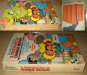 Il dizionario di Charlie Brown, Charles M. Schulz,